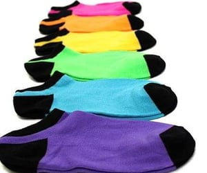 socks, colors, and womens image