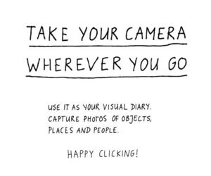 camera, quotes, and photography image