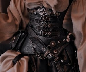 aesthetic, belt, and leather image