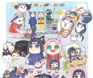 akatsuki, team 7, and sakura uchiha image