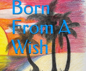 beach, sunset, and born from a wish image