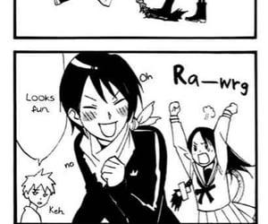 manga, hiyori, and yato image