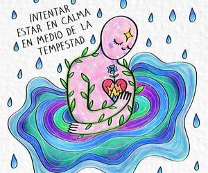 caos, frases español, and calma image