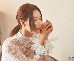 k-pop, miyeon, and i burn image