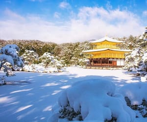 japan, winter, and instagram image