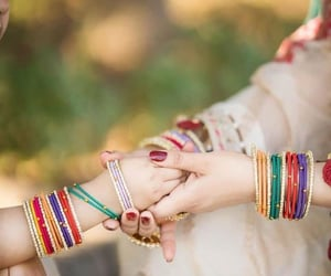 bangles, beauty, and best friends image