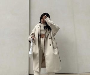 style, fashion, and beige image