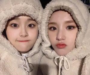 heejin, chuu, and loona image