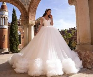 wedding, wedding dress, and weddingdress image
