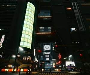 black, buildings, and dystopian image