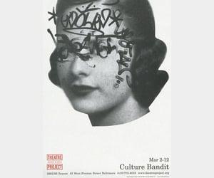 black&white, fashion, and street art image