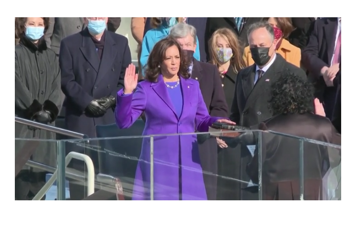 historic, inauguration, and vicepresident image