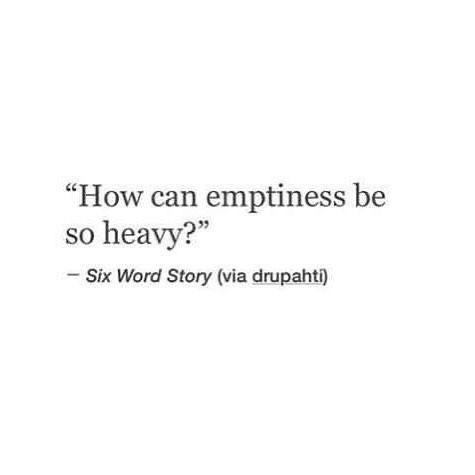 quotes, sad, and emptiness image