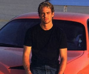 actor, paul walker, and cars image