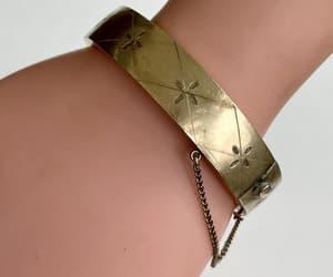 etsy, bangle bracelet, and vintage bangle image