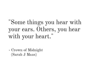 heart, motivation, and crown of midnight image