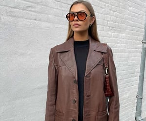 brown, casual, and sunglasses image