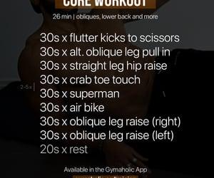 motivation, workout, and gymaholic image