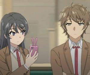 mai sakurajima, bunny girl senpai, and sakuta azusagawa image