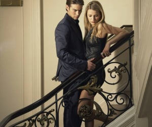 gossip girl, nate, and blake lively image