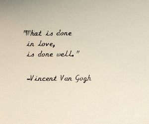 quote, van gogh, and words image