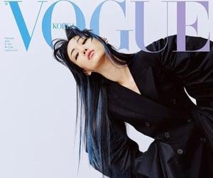 model, sora choi, and vogue korea image