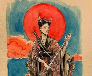 Chiara Bautista, drawing, and japanese image