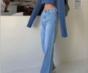 fashion, beauty, and blue image