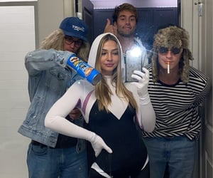 best friends, costume, and girls image