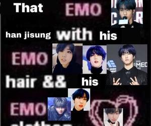 emo, han, and jisung image