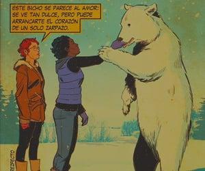 amor, bear, and dibujitos image