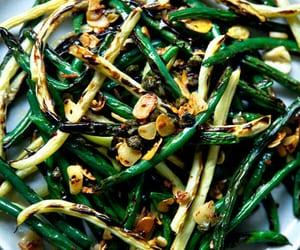garlic and blistered green bean image