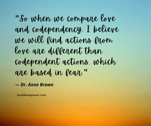 love and codependency image