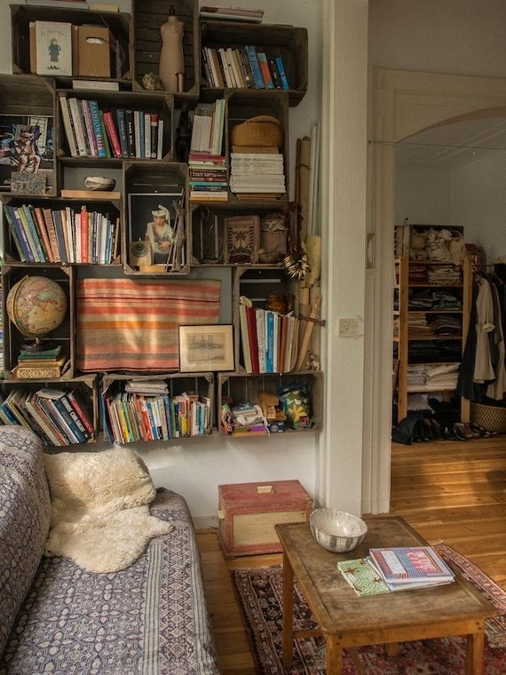aesthetic, beige, and blanket image