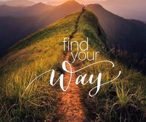 find, way, and nature image
