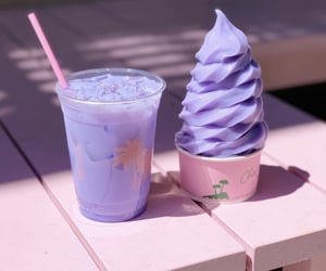 ice cream, aesthetic, and drink image