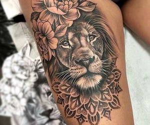 art, strong, and tattoo image