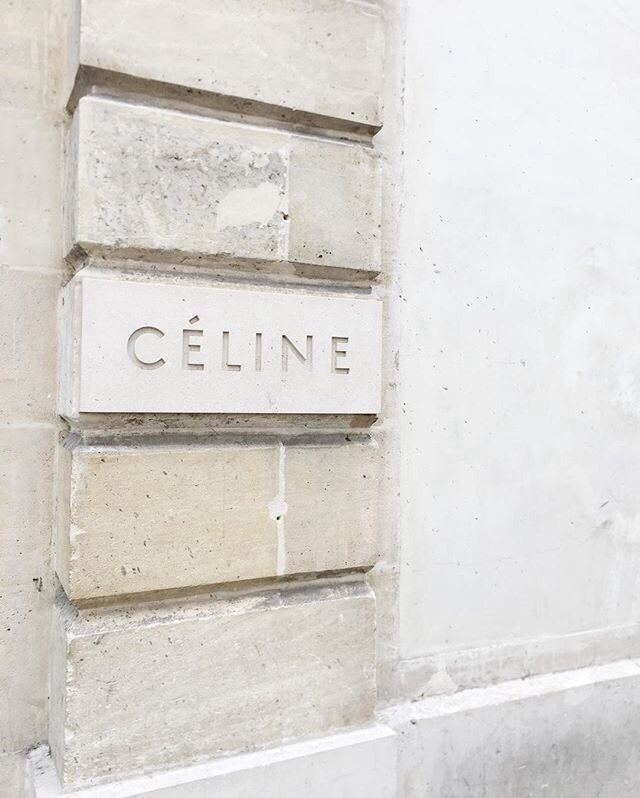 celine, beige, and fashion image
