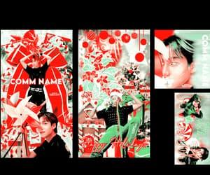 christmas, edit, and kpop image