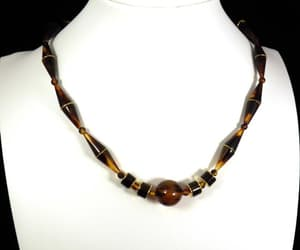 Art Deco Choker Necklace Vintage Japanise Jewelry 1930s image 0