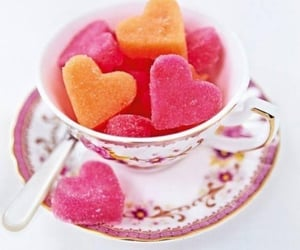 sweet, food, and hearts image