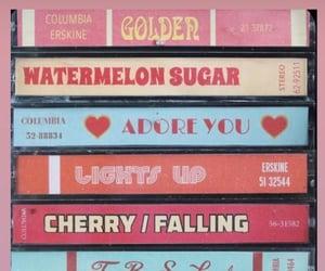 album, cherry, and falling image