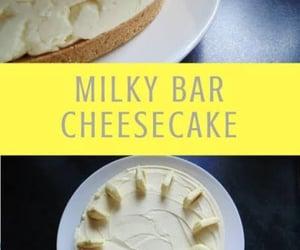 Milkybar cheesecake