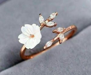 accessories, flowers, and ring image