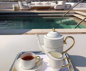 luxury and tea image
