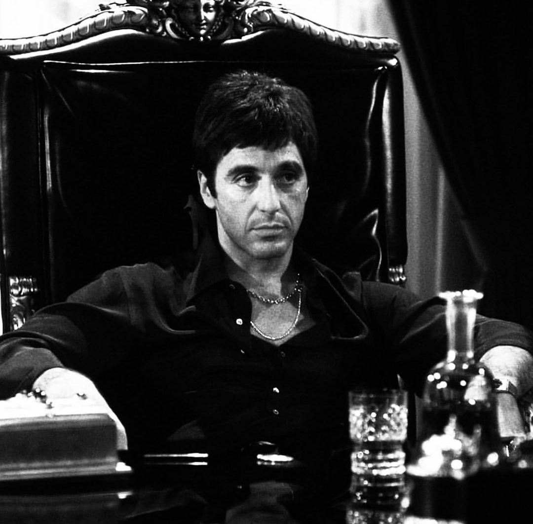 80s, al pacino, and scarface image