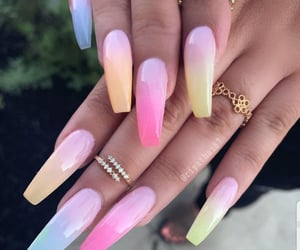 colors, nails, and rings image