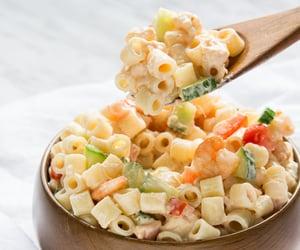 Shrimp pasta salad - Nom-Food!