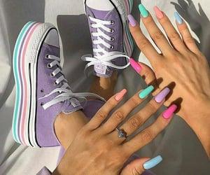 nails art, nail art, and style image