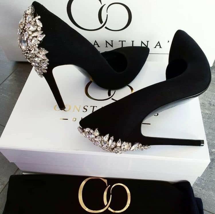 black, girls, and heels image